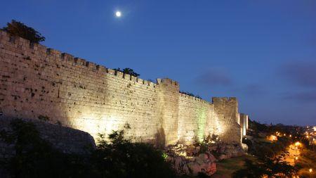 israel jerusalem: Jerusalem – The tower of David (David's citadel) Stock Photo
