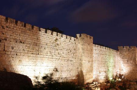 middle east war: Jerusalem – The tower of David (David's citadel) Stock Photo