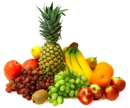 grouping: Colorful Fruits Stock Photo