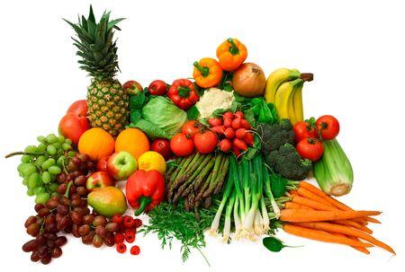 abastecimiento: Las legumbres y hortalizas frescas