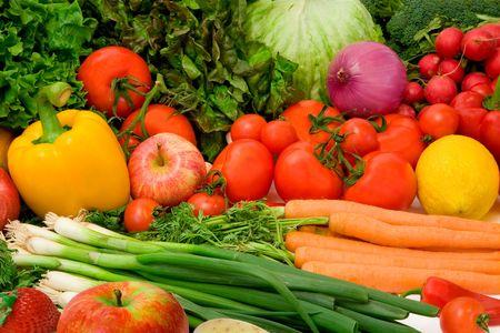 abastecimiento: Deliciosas frutas y hortalizas