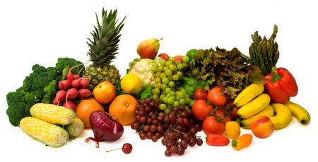 nutriments: Vegetables and Fruits