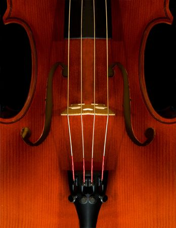 fiddles: Violin Close-Up Stock Photo