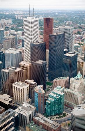 erection: Toronto Downtown Stock Photo