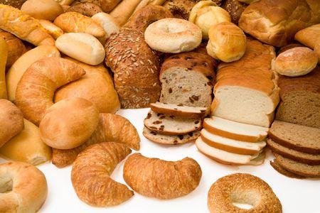 Vaus Types of Bread Stock Photo - 1887404