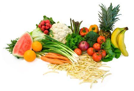 nutriments: Vegetables and Fruits Arrangement