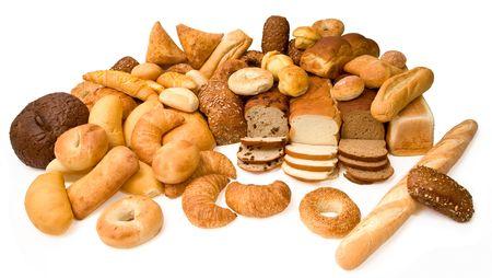 nutriments: Varios tipos de pan  Foto de archivo