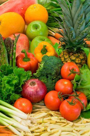 nonfat: Vegetables and Fruits
