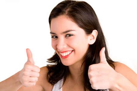 endorsement: Thumbs Up Stock Photo