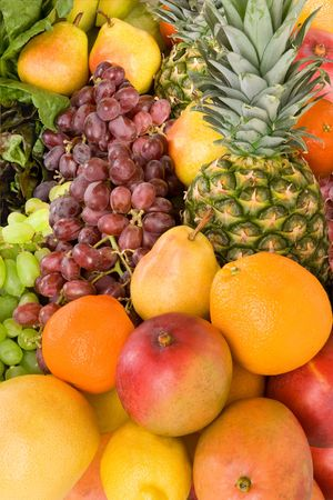This is a display of colorful fruits Stock Photo - 2993786