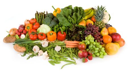 nonfat: This is a close-up of vegetables and fruits.