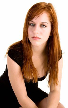 Sexy Redhead Lady Stock Photo - 3085937