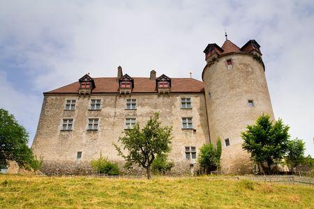 canton: Gruyeres Castle, Fribourg Canton, Switzerland