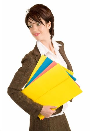 Beautiful Smiling Businesswoman Stock Photo - 3733020