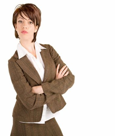 Attractive Serious Businesswoman  photo