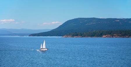 strait of juan de fuca: Swanson Channel, Gulf Islands Chain, British Columbia, Canada