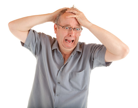 annoying: Man in Shock Just Got Very Bad News