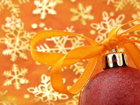 colorful christmas decorations                                photo
