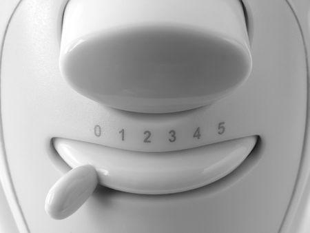 batteur �lectrique: batteur �lectrique � vitesse fragment poign�e  Banque d'images