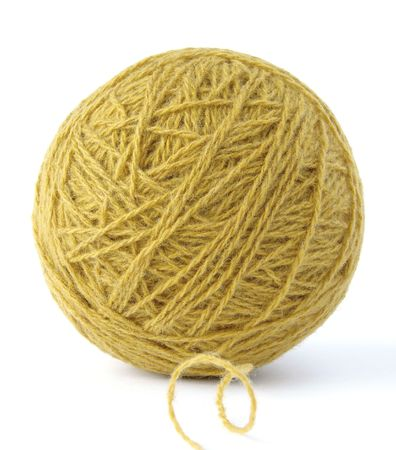 wool yarn clew                                photo