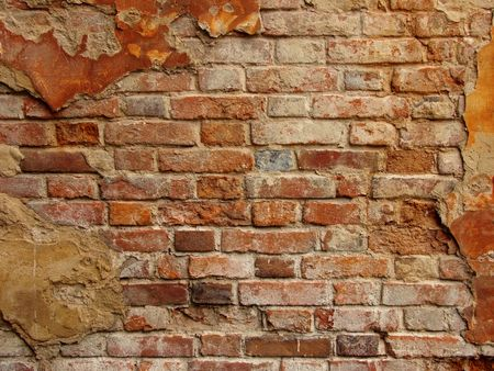 old brickwall fragment as a background Stock Photo - 5467188
