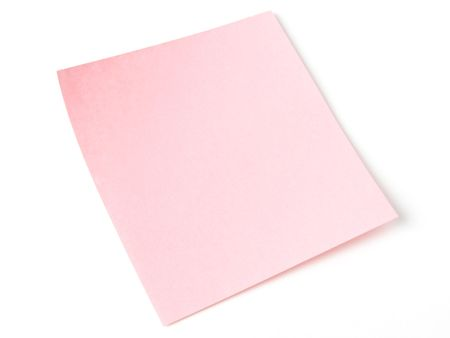 todo list: blank pink to-do list                                Stock Photo