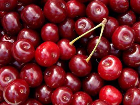 cherry fruits background