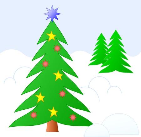 Christmas sketching Stock Vector - 7454152