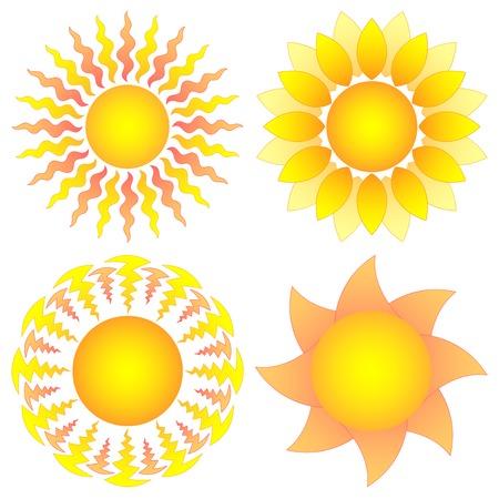 symbolic  sun collection Stock Vector - 8390654