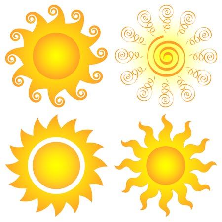 summery: symbolic  sun set