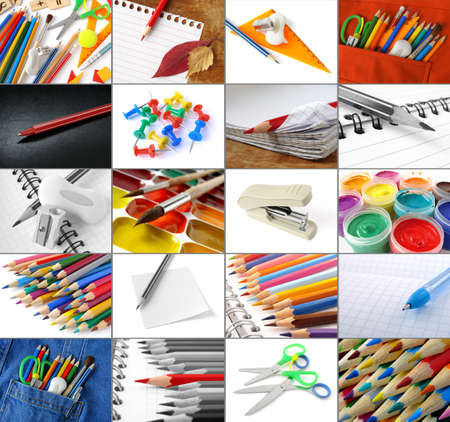 some school and office supplies collection Stock Photo - 12082729