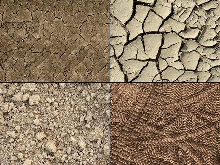 ground textures set                         Stock Photo - 12337162