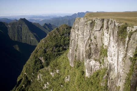 grande: The Montenegro Canyon in Rio Grande do Sul - Brazil.