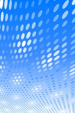 Blue Spot Pattern Vector