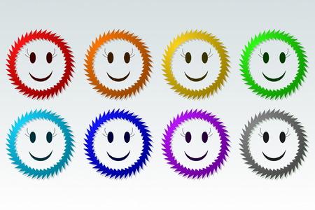 prickles: Prickly Smile Illustration