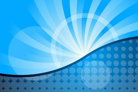 Abstract Blue Illustration