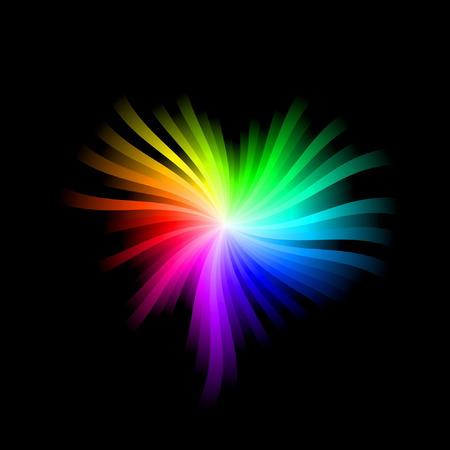 Spectrum Heart Illustration