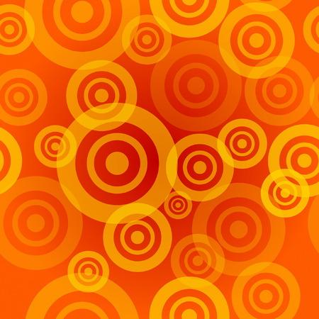 circumference: Seamless Orange Pattern