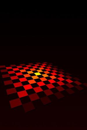 Checkered Board Vector