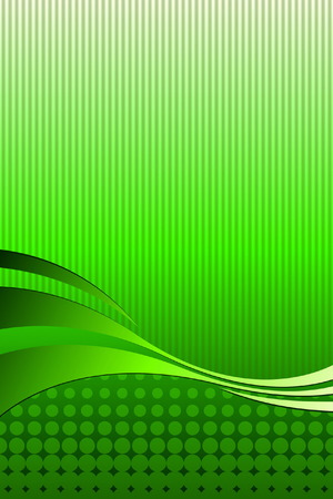verdant: Ecology Green Illustration