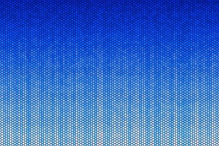 Blue Hexagon Pattern Stock Vector - 4833170