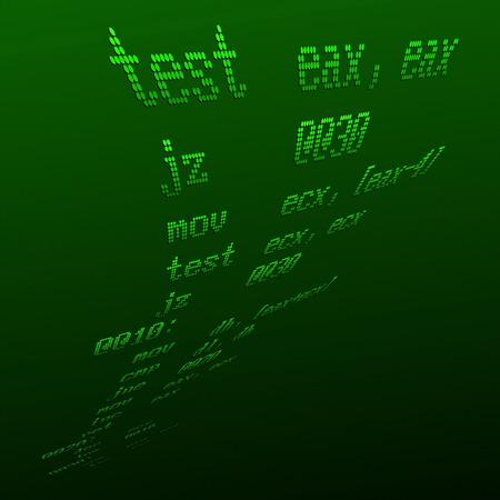 Assembler Procedure Stock Vector - 4844325