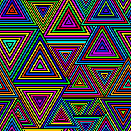groviglio: Seamless Pattern Triangolo