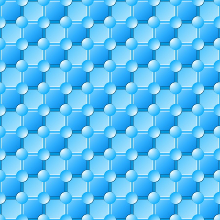 Seamless Blue Tile Pattern Stock Vector - 4865399
