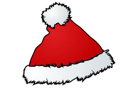 pompon: Santas Hat