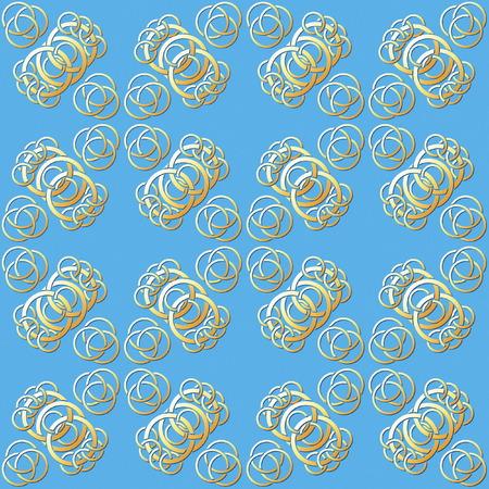gold ring: Seamless Gold Ring Pattern