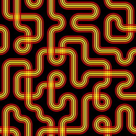 Seamless Circuit Pattern Vector