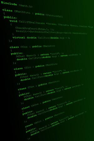 C++ Code Stock Vector - 5917382