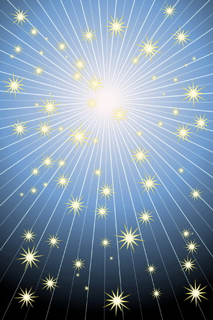 blare: Stars Background Illustration