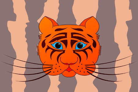 The Tiger Stock Vector - 5951144